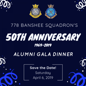 778 Banshee Squadron's Save the Date